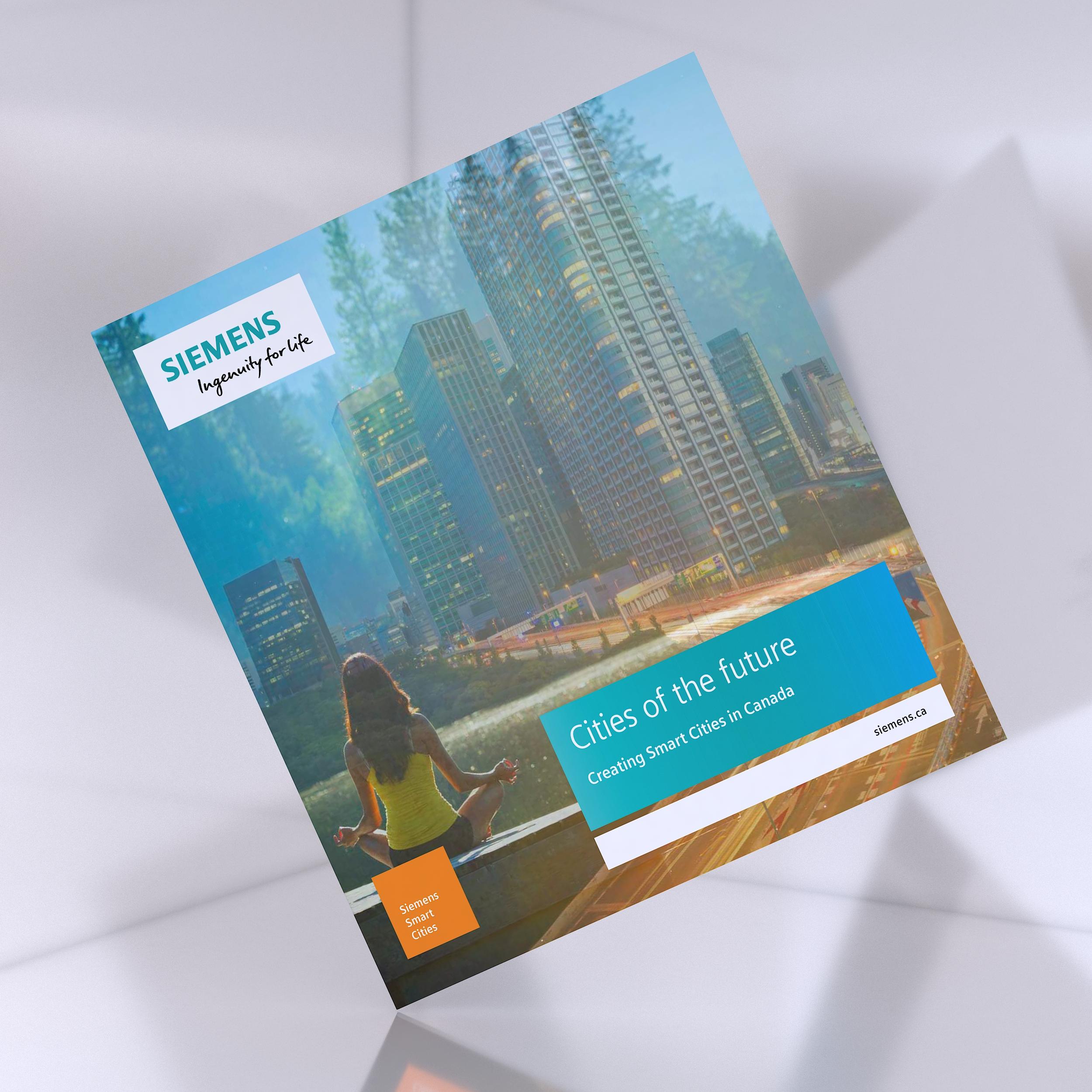 智慧城市画册设计