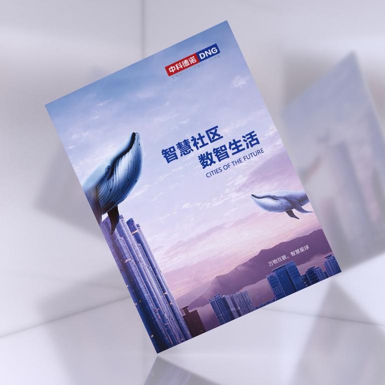 中科德诺智慧城市宣传册设计