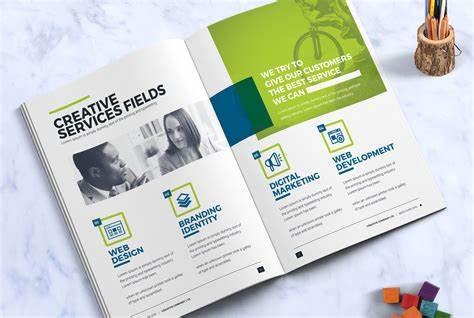 德国宣传册目录设计