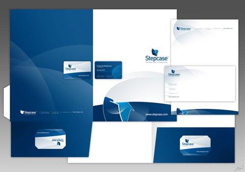 佛山画册设计案例:蓝色科技宣传册设计-6