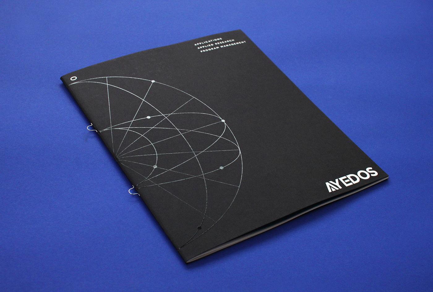 专业严谨的科技宣传册设计-1
