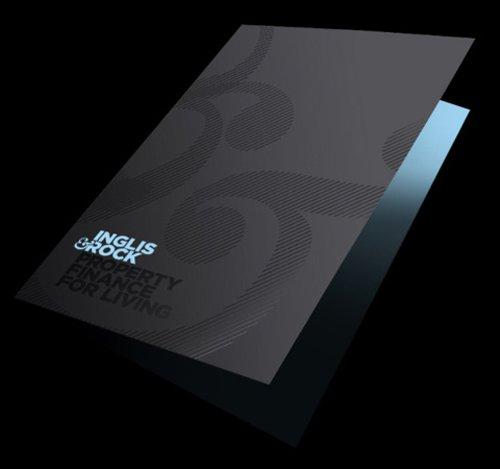 佛山画册设计案例:蓝色科技宣传册设计-3