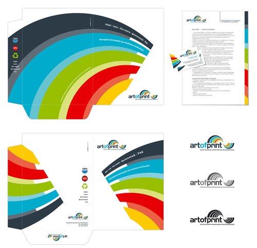 佛山画册设计案例:蓝色科技宣传册设计-5