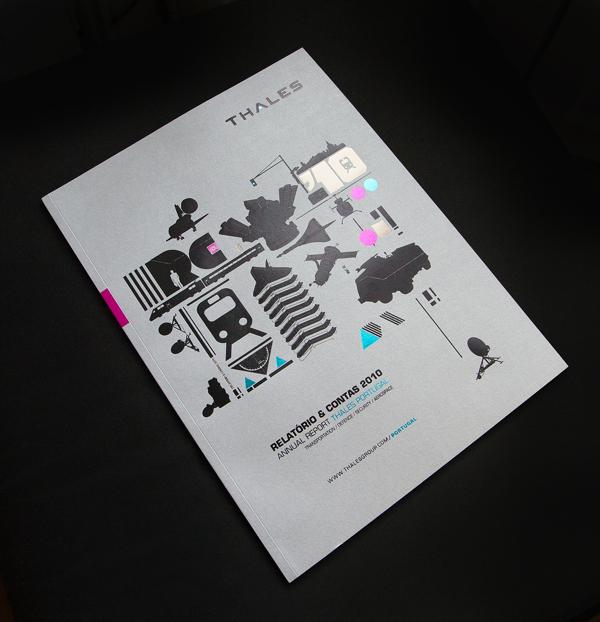 Thales机械画册设计