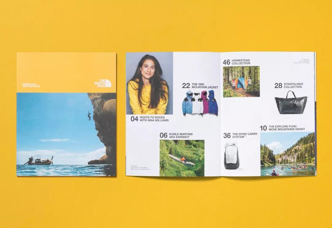 春季服装产品手册设计,样本画册设计