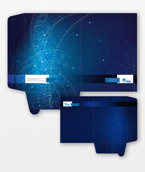 佛山画册设计案例:蓝色科技宣传册设计-2