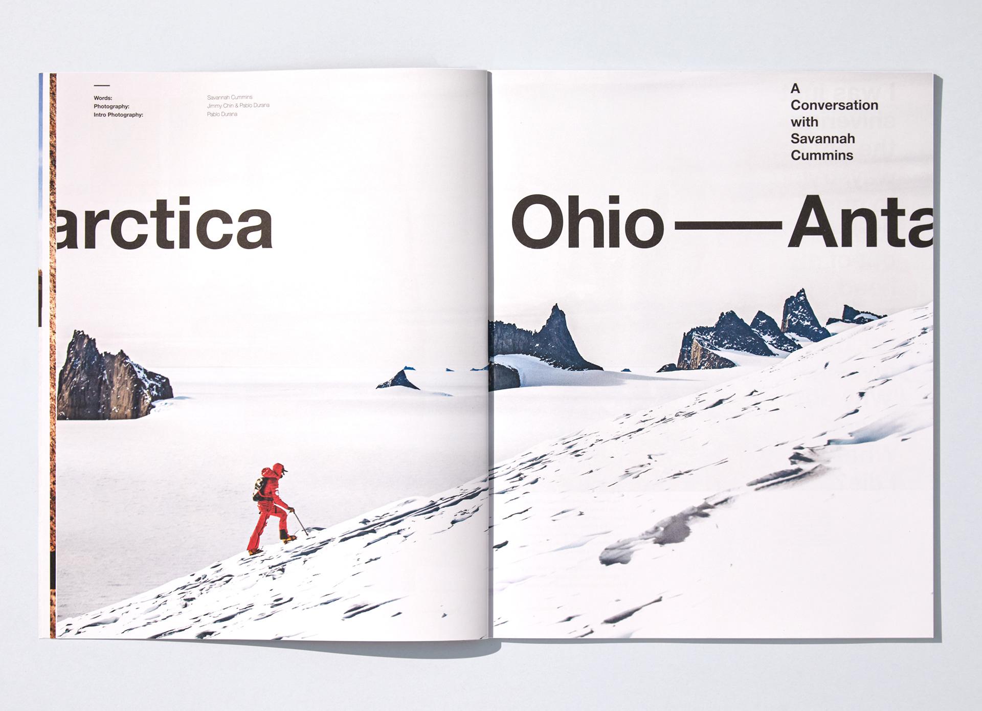 -雪服装品牌画册设计7
