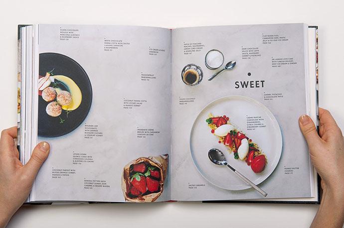 烹饪食谱菜谱菜单设计