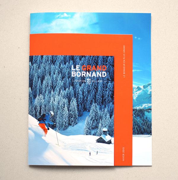 15个漂亮画册版式设计
