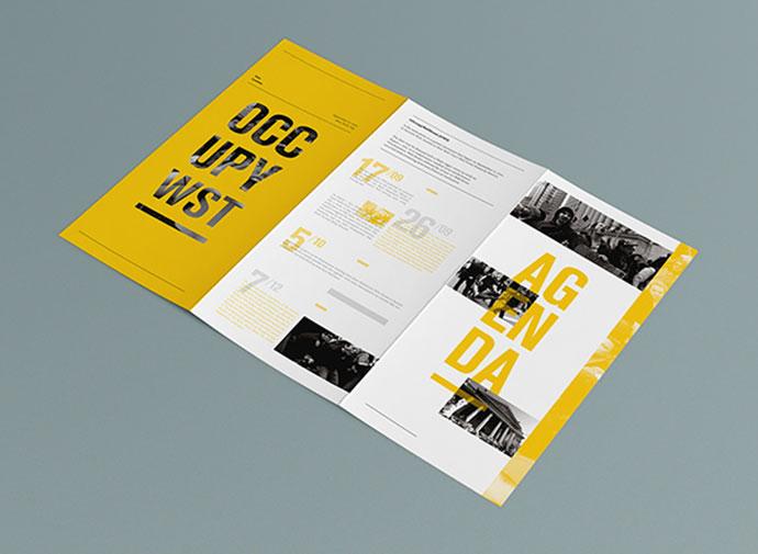 国外宣传册排版设计