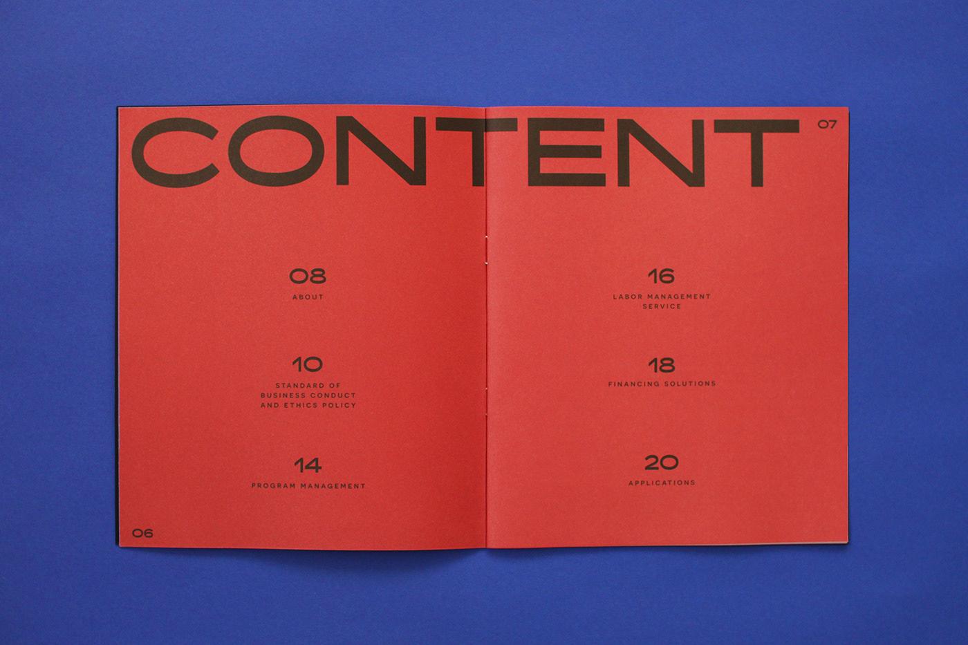 专业严谨的科技宣传册设计-2