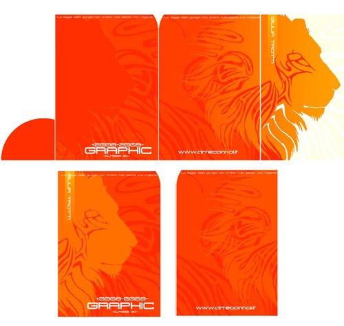 佛山画册设计案例:蓝色科技宣传册设计-4
